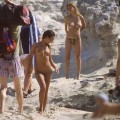 Beach flashing - nude in public beach - 13