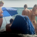 Trio of hot german teens naked on the beach - 34