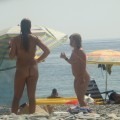 Trio of hot german teens naked on the beach - 5
