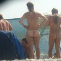 Trio of hot german teens naked on the beach - 13