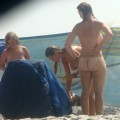Trio of hot german teens naked on the beach - 49