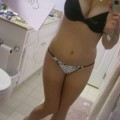 Facebook selfshot girl