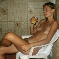 Hot blonde beata on vacantion