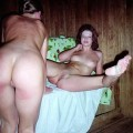 Russian sauna - amateurs mixed galleries