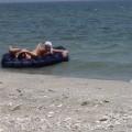 Licking lesbians on beach - 25
