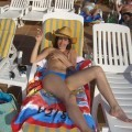 Wife on vacation at beach - 8