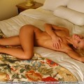 Blonde bed spreads