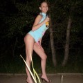 Young russian girl at home and outdoor - part 2