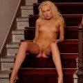 Katherina in the stairs
