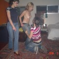Naked teens at party