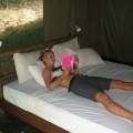 Blonde cutie on vacation in thailand