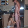 Hot couple fucking at home