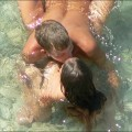 Nudist beach - couple