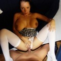Bea - amateur gf sheer lingerie and anal sex