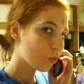 Redhead college teen