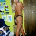 Giselle - amateur blonde surfer teen in her undies