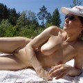 Beach horny girls on vacation - pamela