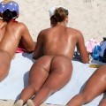 Nudist fkk summer time hotties on the beach