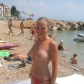 Nudist FKK Summer Time HoTTies on the Beach - 196