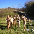 Horny girls on vacation - nata and friends