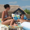 Horny girls on vacation - simone and clara