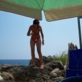 Horny girls on vacation - bianca