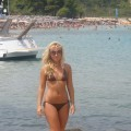 Horny girls on vacation - verena