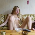 Beautiful skinny russian blonde serie 79