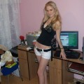 Pretty russian blonde posing nn serie 93