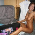 Unpacking the dildo