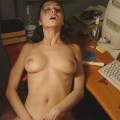 Horny slut loves ass fucking 6