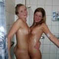 Girls in the shower