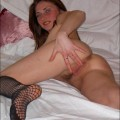 Dirty girl shows her sexy body - redhead serie 20