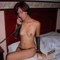 Brunette beauty hot serie 58