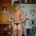 Extremely gorgeous blonde teen naked!