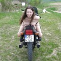 Motorcycle - amazing girl 1
