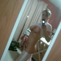 Selfshots - busty blonde in bathroom