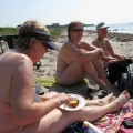 Saggy old nudists