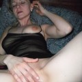 Wife fucks huge dildos