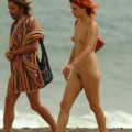 Red hair nudist