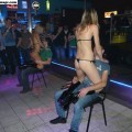 Party girls in club - striptease at party