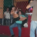 Party girls in club - striptease
