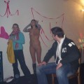 Party girls - valentine striptease and bodypainting