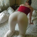 Girlfriend with sexy ass