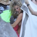 Kate moss nip slip while changing - celebrity