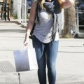 Hilary duff - out and about shopping candids in beverly hills - celebrity