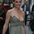 Katie holmes gives us nipslip - celebrity
