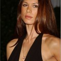 Rhona mitra boob slip - abc winter press tour party - celebrity