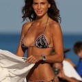 Claudia galanti topless bikini candids on beach in miami - celebrity