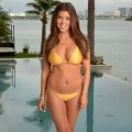 Kourtney kardashian bikini photoshoot - celebrity